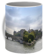 Bridges On River Seine. Paris. France Coffee Mug