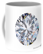 Brilliant Diamond Coffee Mug by Setsiri Silapasuwanchai