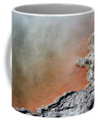 Bubbles Rising In Champagne Pool Hot Coffee Mug