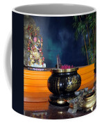 Buddhist Altar Coffee Mug by Yali Shi