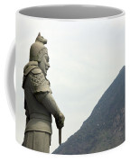 Buddhist Temple Statue Coffee Mug