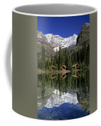 Cabins, Sargents Point, Lake Ohara Coffee Mug