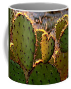 Cactus Heart In Sunset Coffee Mug