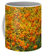 California Poppies And Goldfields Dance Coffee Mug
