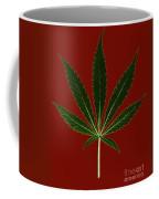 Cannabis Sativa, Marijuana Leaf Coffee Mug