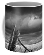 Canola Field In Southern Alberta  Coffee Mug