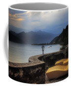 Canvas Chairs Coffee Mug by Joana Kruse