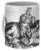 Caricature Of Two Alcoholics, 1773 Coffee Mug by Science Source