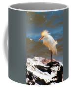 Cattle Egret In Breeding Plumage Coffee Mug
