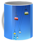 Chairlift Cars Coffee Mug
