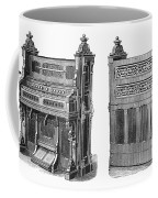 Chapel Organ, 19th Century Coffee Mug