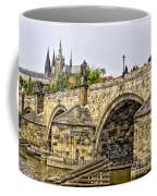 Charles Bridge And Prague Castle Coffee Mug
