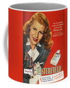 Chesterfield Cigarette Ad Coffee Mug by Granger