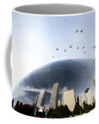 Chicago Cityscape The Bean Coffee Mug