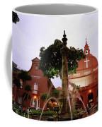 Christ Church In Melaka In Malaysia Coffee Mug
