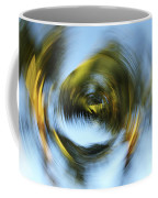 Circular Palm Blur Coffee Mug
