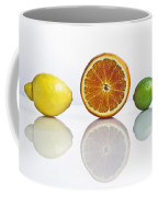 Citrus Fruits Coffee Mug by Joana Kruse