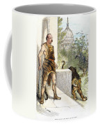 Cleveland Cartoon, 1884 Coffee Mug
