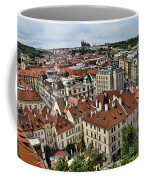 Clock Tower View - Prague Coffee Mug
