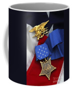 Close-up Of The Medal Of Honor Award Coffee Mug