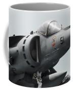 Close-up View Of An Av-8b Harrier II Coffee Mug