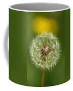 Close View Of A Dandelion Gone To Seed Coffee Mug