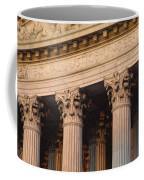 Closeup Of The U.s. Supreme Court Coffee Mug