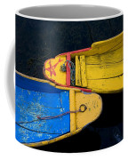 Colorful Boats, Srinagar, Dal Lake Coffee Mug