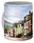 Colorful Houses In Newfoundland Coffee Mug by Elena Elisseeva