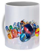 Colorful Marbles Coffee Mug by Carlos Caetano