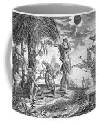 Columbus: Jamaica, 1504 Coffee Mug