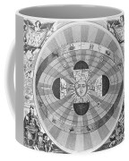 Copernican World System, 17th Century Coffee Mug by Science Source
