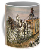 Cotton Harvester, 1886 Coffee Mug