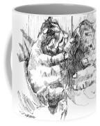 Cradling Kittens Coffee Mug