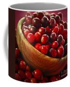 Cranberries In A Bowl Coffee Mug by Elena Elisseeva