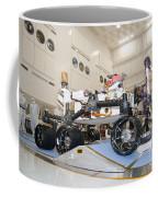 Curiosity Rover In The Testing Facility Coffee Mug