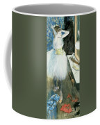 Dancer In Her Dressing Room Coffee Mug by Edgar Degas