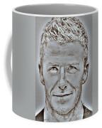 David Beckham In 2009 Coffee Mug