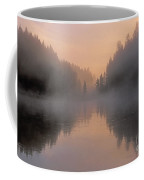 Dawn On The Yellowstone River Coffee Mug