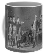 Death Warrant Of Major John Andre, 1780 Coffee Mug by Photo Researchers