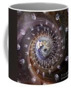 Digitally Enhanced Image Of The Earth Coffee Mug
