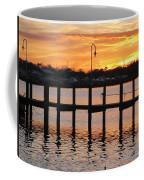 Dock Sunset Coffee Mug