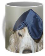 Dog With A Sleep Mask Coffee Mug