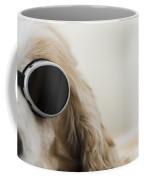 Dog With Sunglasses Coffee Mug