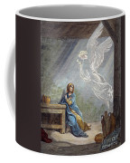Dor�: The Annunciation Coffee Mug by Granger