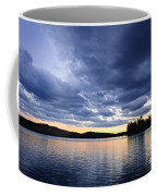 Dramatic Sunset At Lake Coffee Mug