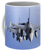 Dutch F-16ams During A Combat Air Coffee Mug