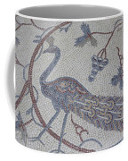 Early Christian Mosaic In The Ruins Coffee Mug by Taylor S. Kennedy