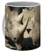 Eastern Black Rhinoceros Coffee Mug by Joel Sartore