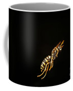 Eastern Yellow Jacket Wasp In Flight Coffee Mug